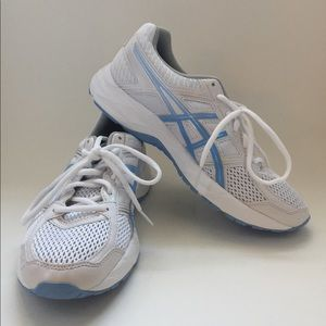 ASICS White Gel Contend 4 size 8.5
